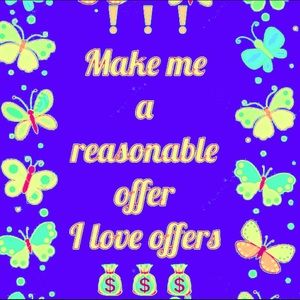 Other - A reasonable offer is always welcome👍🛍